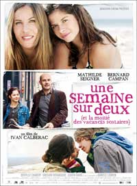Une semaine sur deux - 27 x 40 Movie Poster - French Style A