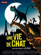 Une vie de chat - 11 x 17 Movie Poster - French Style A
