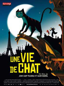 Une vie de chat - 27 x 40 Movie Poster - French Style A