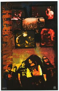 Unearth - Music Poster - 22 x 34 - Style A