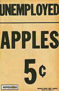 Unemployed Apples 5 Cents - 27 x 40 Movie Poster - Style A