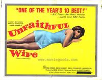 Unfaithful Wife - 22 x 28 Movie Poster - Half Sheet Style A