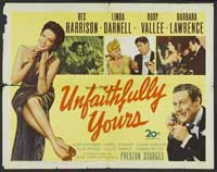 Unfaithfully Yours - 30 x 40 Movie Poster - Style A