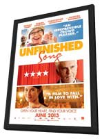 Unfinished Song - 11 x 17 Movie Poster - Style B - in Deluxe Wood Frame