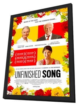 Unfinished Song - 11 x 17 Movie Poster - Style A - in Deluxe Wood Frame