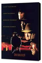 Unforgiven - 27 x 40 Movie Poster - Style D - Museum Wrapped Canvas