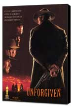 Unforgiven - 27 x 40 Movie Poster - Style C - Museum Wrapped Canvas