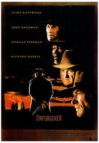 Unforgiven - 43 x 62 Movie Poster - Bus Shelter Style A