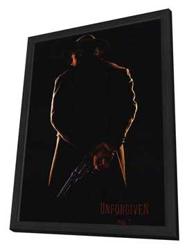 Unforgiven - 11 x 17 Movie Poster - Style B - in Deluxe Wood Frame