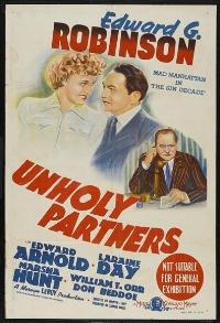 Unholy Partners - 11 x 17 Movie Poster - Australian Style A