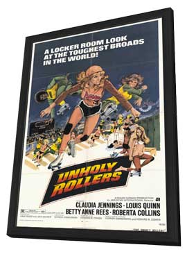 Unholy Rollers - 11 x 17 Movie Poster - Style A - in Deluxe Wood Frame