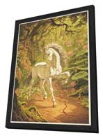 Unicorn - 27 x 40 Movie Poster - Style A - in Deluxe Wood Frame