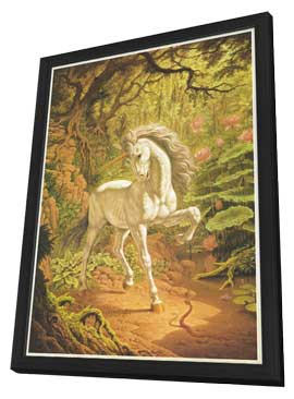 Unicorn - 11 x 17 Movie Poster - Style A - in Deluxe Wood Frame