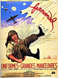Uniformes et grandes manoeuvres - 11 x 17 Movie Poster - French Style A