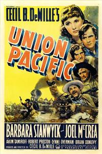 Union Pacific - 27 x 40 Movie Poster - Style B