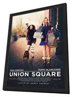 Union Square - 27 x 40 Movie Poster - Style A - in Deluxe Wood Frame