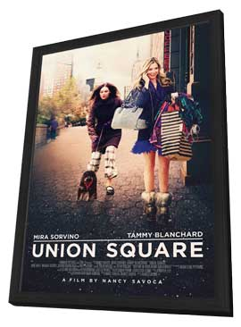 Union Square - 11 x 17 Movie Poster - Style A - in Deluxe Wood Frame