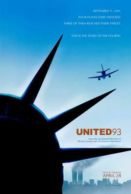 United 93 - 27 x 40 Movie Poster - Style A