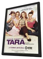 United States of Tara - 11 x 17 TV Poster - Style A - in Deluxe Wood Frame