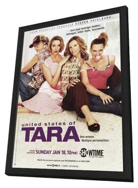 United States of Tara - 27 x 40 TV Poster - Style A - in Deluxe Wood Frame