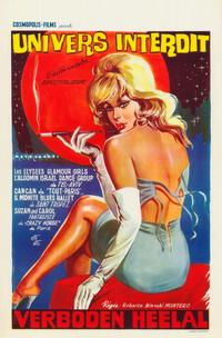 Univers Interdit - 11 x 17 Movie Poster - Belgian Style A