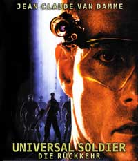 Universal Soldier: The Return - 27 x 40 Movie Poster - German Style A