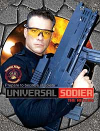 Universal Soldier: The Return - 11 x 17 Movie Poster - Style C
