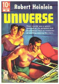 Universe - 11 x 17 Retro Book Cover Poster