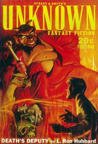 Unknown Fantasy Fiction (Pulp) - 11 x 17 Pulp Poster - Style A