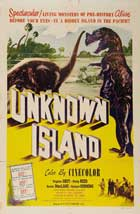 Unknown Island - 11 x 17 Movie Poster - Style B