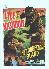 Unknown Island - 14 x 22 Movie Poster - Belgian Style A