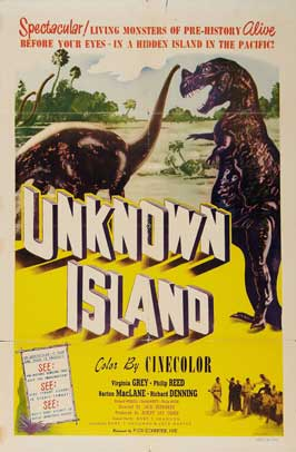 Unknown Island - 27 x 40 Movie Poster - Style B