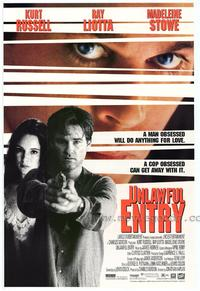 Unlawful Entry - 27 x 40 Movie Poster - Style A