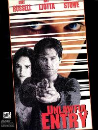Unlawful Entry - 27 x 40 Movie Poster - Style B