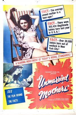 Unmarried Mothers - 27 x 40 Movie Poster - Style A
