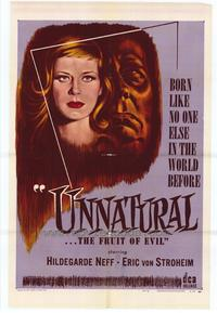 Unnatural - 27 x 40 Movie Poster - Style A
