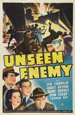 Unseen Enemy - 27 x 40 Movie Poster - Style A