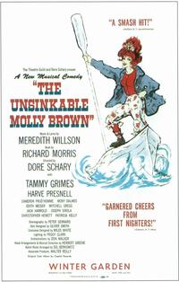 Unsinkable Molly Brown, The (Broadway) - 14 x 22 Poster - Style A