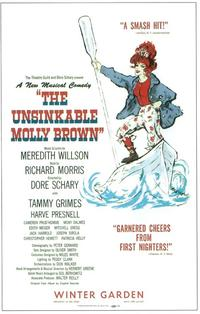 Unsinkable Molly Brown, The (Broadway) - 11 x 17 Poster - Style A