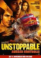 Unstoppable - 27 x 40 Movie Poster - German Style B