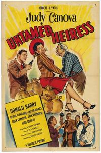 Untamed Heiress - 27 x 40 Movie Poster - Style A