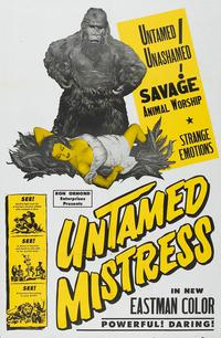 Untamed Mistress - 27 x 40 Movie Poster - Style A