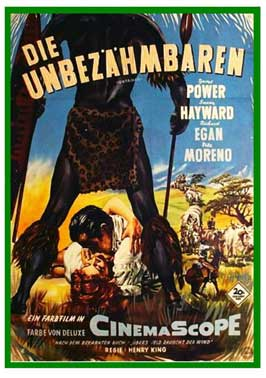 Untamed - 11 x 17 Movie Poster - German Style B