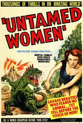 Untamed Women - 11 x 17 Movie Poster - Style A