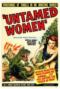 Untamed Women - 27 x 40 Movie Poster - Style A