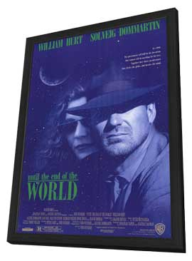 Until the End of the World - 11 x 17 Movie Poster - Style A - in Deluxe Wood Frame