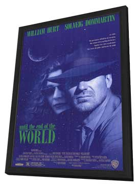 Until the End of the World - 27 x 40 Movie Poster - Style A - in Deluxe Wood Frame