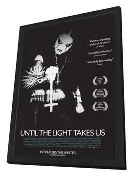 Until the Light Takes Us - 27 x 40 Movie Poster - Style A - in Deluxe Wood Frame