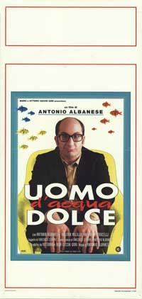 Uomo d'acqua dolce - 13 x 28 Movie Poster - Italian Style A