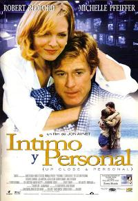 Up Close and Personal - 11 x 17 Movie Poster - Spanish Style A